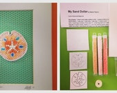 Sand Dollar Bead Embroidery Tutorial and Kit