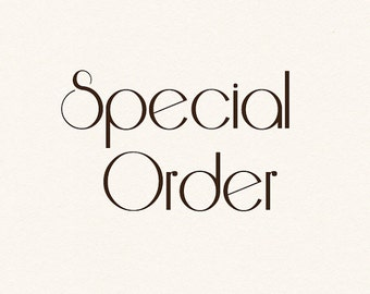 Special order - printing services for digital art printable