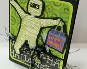 Lovin' Mummmy Halloween Handmade Card
