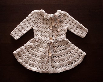 Crochet Coat Pattern No 10