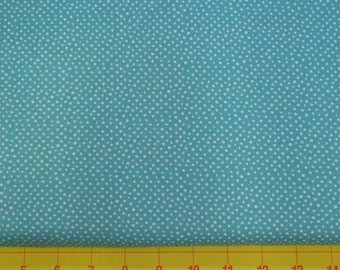 Confetti Turquoise Dots Fabric from Dear Stella - Yardage