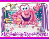 MR. BUBBLY Scented Soy Wax Melts - Kids Bubble Bath Type* Scent - Handmade Soy Wax Tarts - Hand Poured - Highly Scented - Made In USA