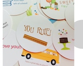 Lunch Box Notes - School Cards