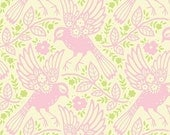 SALE Meadowlark in Pink from Heather Bailey Up Parasol 1 yard