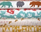 Birch Organic Fabrics,Just for Fun,Ipanema,Organic Designer Cotton,Unisex, Baby, Fabric, Cream, Boy,Girl,Adult, 4 yards, FREE U.S. SHIPPING