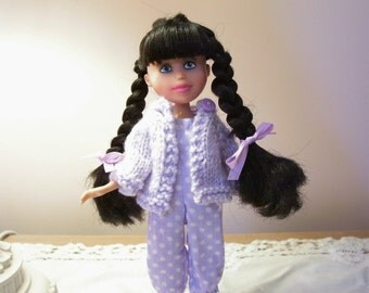 Romper and Hand Knitted Sweater for Make Under doll...doll not included