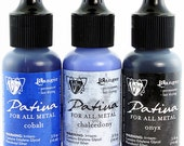 Vintaj Patina Ink Set - 3 Colors - Twilight In Paris