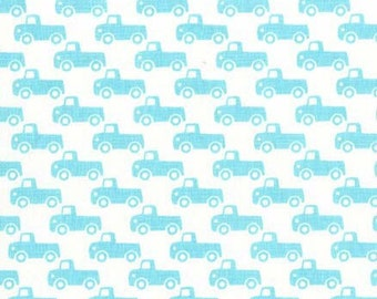 Michael Miller Fabric Tiny Trucks Boy