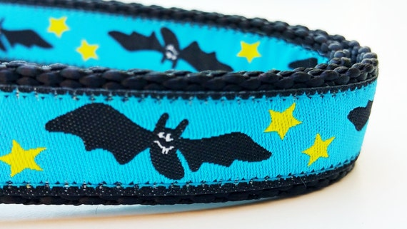 Bat Dog - Dog Collar / Adjustable / Handmade / Pet Accessories / Halloween / Pet Lover / Halloween Dog Collar