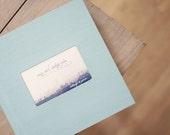 12x12 inch Custom Flush Mounted Photo Wedding Album with Book Cloth