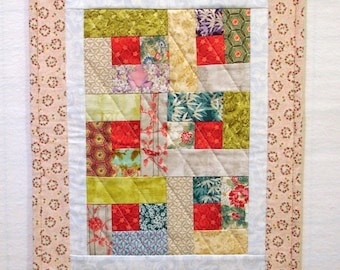 Country Chic Pink Doll Quilt