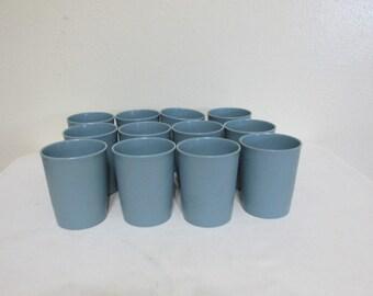 Tupperware Tumblers Set of 12 Six Ounce Juice Glasses