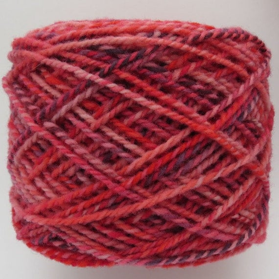 Babydoll Southdown Yarn - Hand dyed - 2 ply - Worsted wt