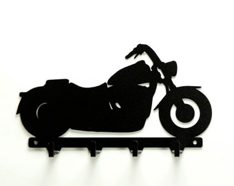 Motorcycle Metal Art Key Rack Hanger - Free USA Shipping
