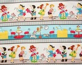 Little Helpers Cotton Fabric by Quilting Treasures 1 Yard