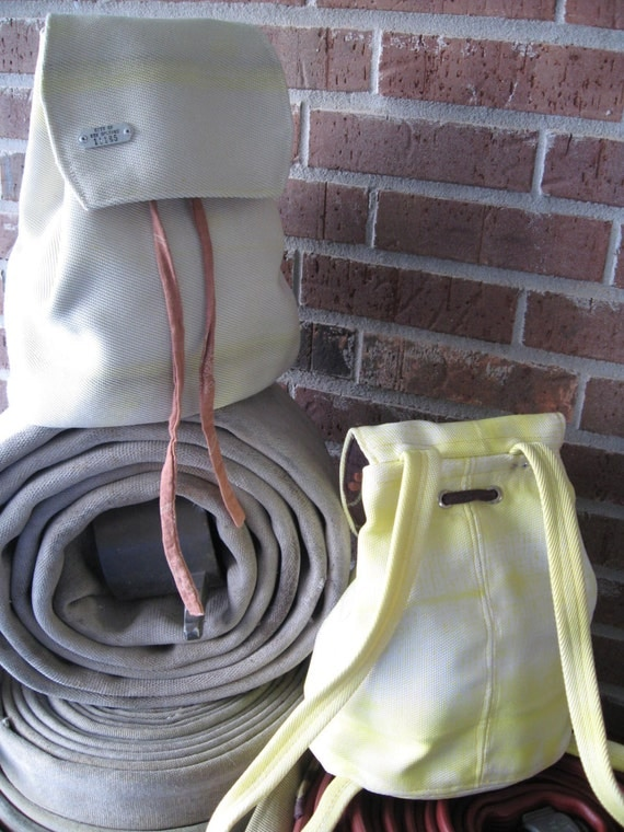 Recycled Firehose Back Pack