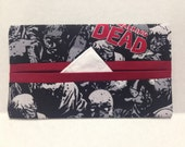 The Walking Dead Tissue Cozy/Gift Card Holder/Party Favor/Wedding Favor