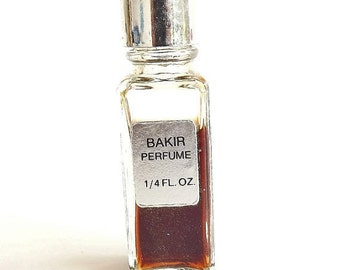 Vintage Perfume Bakir Germaine Monteil Rare Perfume Discontinued Designer