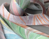 Reserved: Marbled Ribbon Variety in Miniature