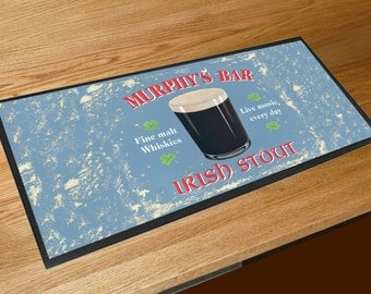 Murphy's Bar Irish Stout Martin Wiscombe bar runner