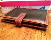 Coach day planner, Vintage 1992 leather Coach day planner., Coach leather vintage, business leather address book