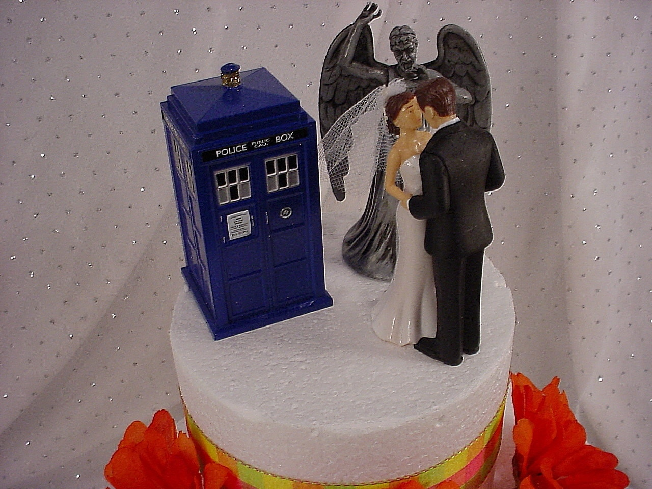 Whovian Cake Toppers