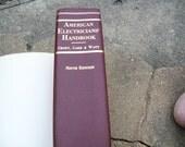 Vintage Book American Electricians' Handbook Ninth Edition