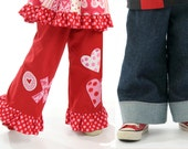 Easy-Fit Kids Pants Pattern for Girls and Boys, Boutique Pattern PDF E-Book,
