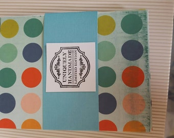 Teal,Turquoise, Aqua note card set