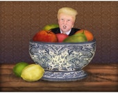Still Life with The Donald Miniprint