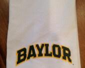 Baylor, flour sack towel, Baylor Bears, tea towel, Baylor University, Sic Em Bears