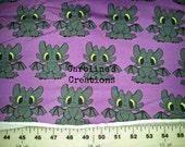 CUSTOM Purple Stuffed Animal Cotton Knit (T-Shirt)