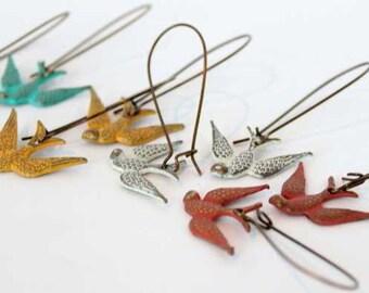 Soar Charm Earrings