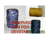 Reserved item for Devstar