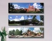 Mountains of Central Florida - Disney World - Canvas Print Panoramic Photos