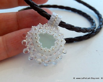 Mermaid Tears -  Organic Genuine Amalfi clear  Sea Glass - clear drops