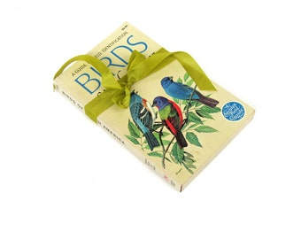 BIRDS of North America Golden Guide  1966 Edition VINTAGE Ornithology / Paper Ephemera/ Art Supply/ Scrapbooking