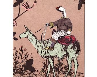 Goose Rider Card