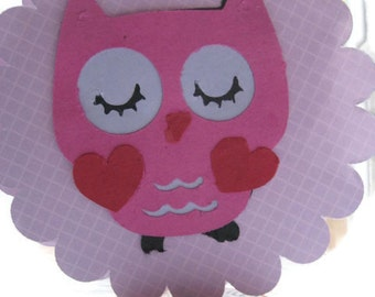 Owl Party Favors or cupcake toppers