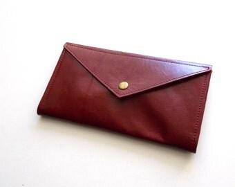 Red Envelope  wallet , leather  women wallet , women purse