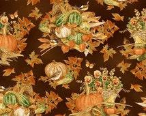 Harvest Fabric Autumn Leaves Henry Glass