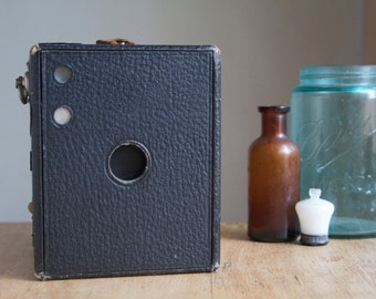 Antique Box Camera, Ansco No. 3 Buster Brown, Dorm or Office Decor, Gift For him, Gift For Dad, Grandpa, Under 20