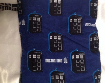 Dr. Who Wet Bag - fits 2-3 diapers, 1-2 swimsuits, or a stanky gym outfit