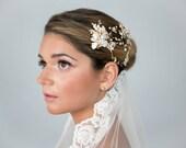 Wedding Bridal Veil Lace Trim Edge Fingertip Length Ivory 1 tier