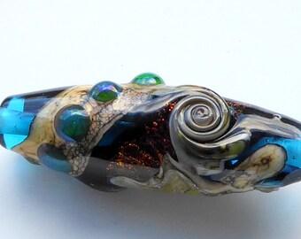 Destash Lampwork glass bead focal