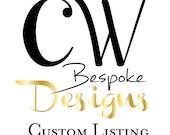 Custom Listing for Denise - LaJolla November 14, 2015
