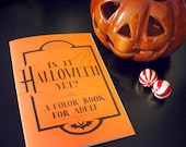 Is it Halloween yet? A color book for adult by Grelin Machin