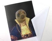 Princess Pinniped - Note Card
