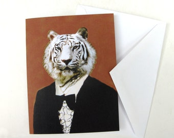 Timeless Tiger - Note Card