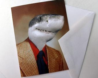 Shane the Shark - Note Card